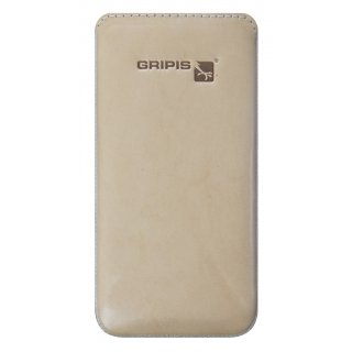 Gripis Ledertasche Slider - iPhone 5c - Saddler Natur