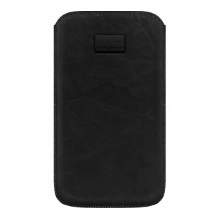 Gripis Ledertasche Slider - Sony Xperia Z1 - Creased Black