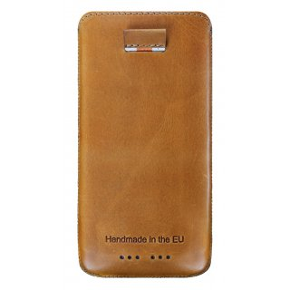 Gripis Ledertasche Slider - HTC One mini 2 - Waxed Whisky Brown