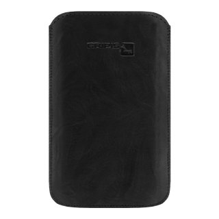 Gripis Ledertasche Slider - Samsung Galaxy S5 mini - Creased black