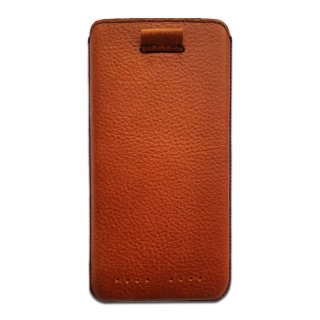 Gripis Ledertasche Slider - Apple iPhone X - Milled Pull-Up Brown